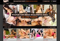 top feet porn website if you love footjob flicks