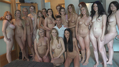 A great amount of Czech videos on Czech Harem