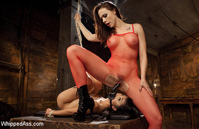 Lesbian bondage videos on Whippedass