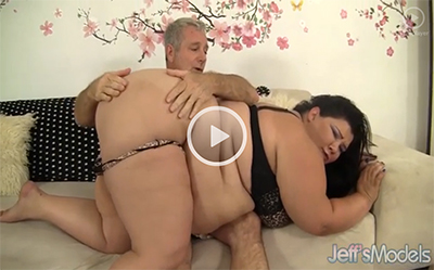 Hot and steamy BBW on Jeff's Models