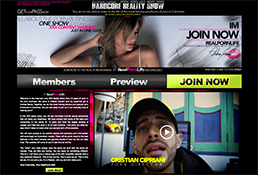 Most popular premium porn website if you're into reality porn shows