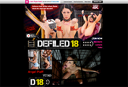 One of the best paid xxx sites offering stunning BDSM flicks