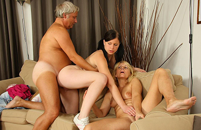marvelous chicks fucked by their best friends' parents