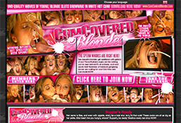 cumcoveredblondes is the greatest niches porn website featuring cum on face xxx videos