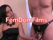 one of the most interesting femdom xxx websites to have fun with sexy mistresses dominating submissive men