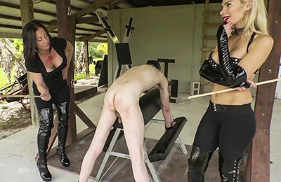 cuckold and femdom acts on subby hubby