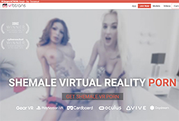 the finest virtual reality xxx site to enjoy famous trannies in vr porn videos