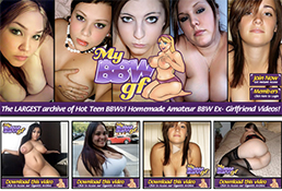 One of the most popular membership porn website to get some BBW content