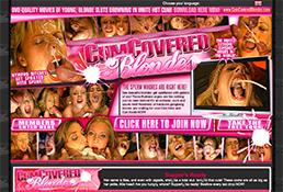 cumcoveredblondes is the greatest niches porn website featuring cum on face xxx videos