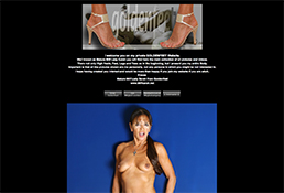 most awesome feet xxx website featuring a hot milf showing her sexy body